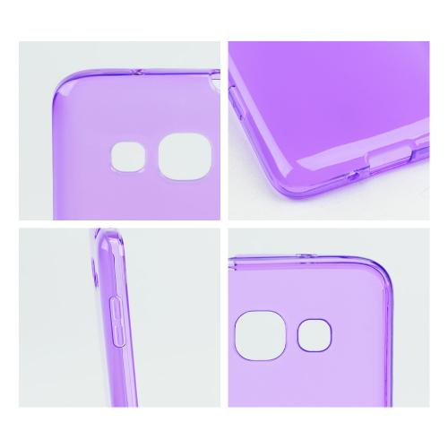 Purple/ Frost Crystal Silicone Skin Case for Samsung Ativ S Neo