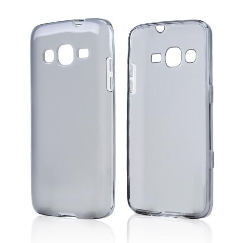Smoke/ Frost Crystal Silicone Skin case for Samsung ATIV S Neo