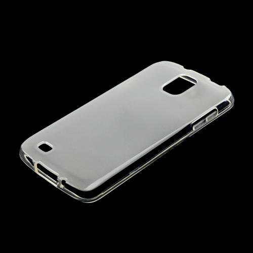 Clear /Frosted Crystal Silicone Skin Case for Samsung Galaxy S4 Active