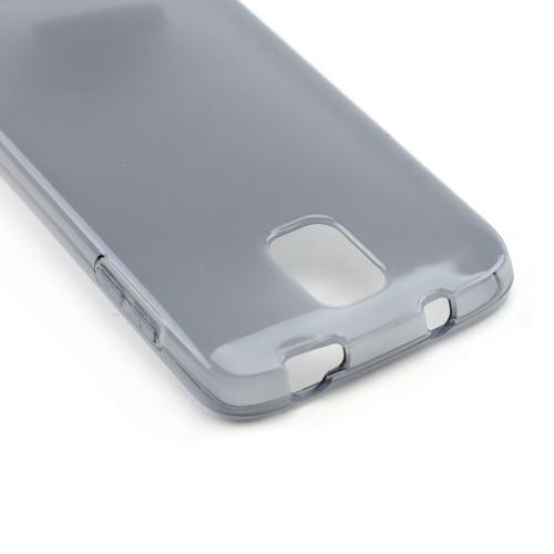 Smoke /Frosted Crystal Silicone Skin Case for Samsung Galaxy S4 Active