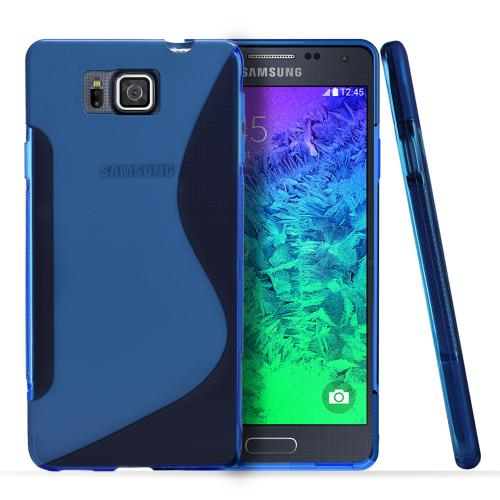 Manufacturers Mint REDShield Samsung Galaxy Alpha Flexible Crystal Silicone TPU Case - Conforms To Your Phone Without Stretching Out! Skins