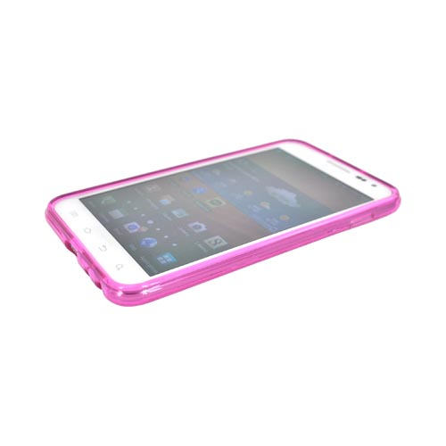 Samsung Galaxy Note Crystal Silicone Case - Argyle Hot Pink