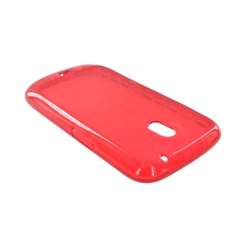 Samsung Galaxy Nexus Crystal Silicone Case - Argyle Red