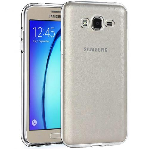 Samsung Galaxy On5 Case  REDshield [Clear] Slim & Flexible Anti-shock Crystal Silicone Protective TPU Gel Skin Case Cover