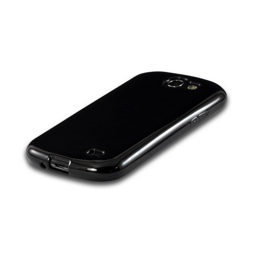 Argyle Black Crystal Silicone Case for Samsung Galaxy Express
