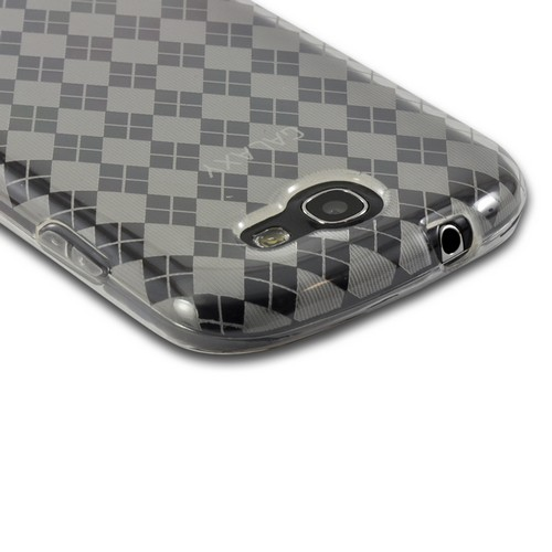 Argyle Clear Crystal Silicone Case for Samsung Galaxy Express