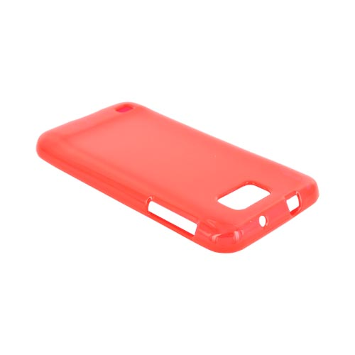 Samsung Galaxy S2 Skyrocket HD Crystal Silicone Case - Argyle Red
