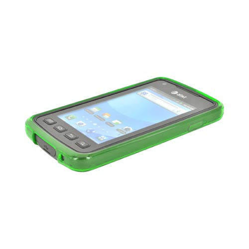 Samsung Rugby Smart i847 Crystal Silicone Case - Argyle Green