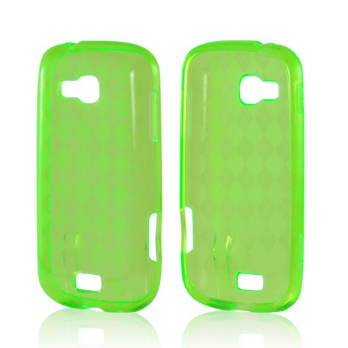 Argyle Green Crystal Silicone Case for Samsung ATIV Odyssey