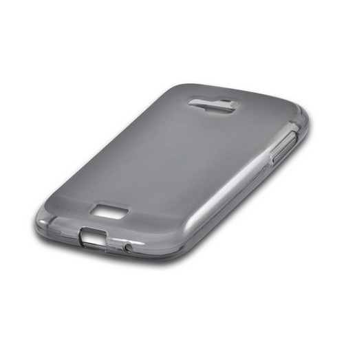 Smoke Crystal Silicone Case w/ Polished Border for Samsung ATIV Odyssey