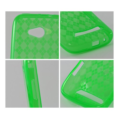 Argyle Green Crystal Silicone Case for Samsung Galaxy Victory 4G LTE