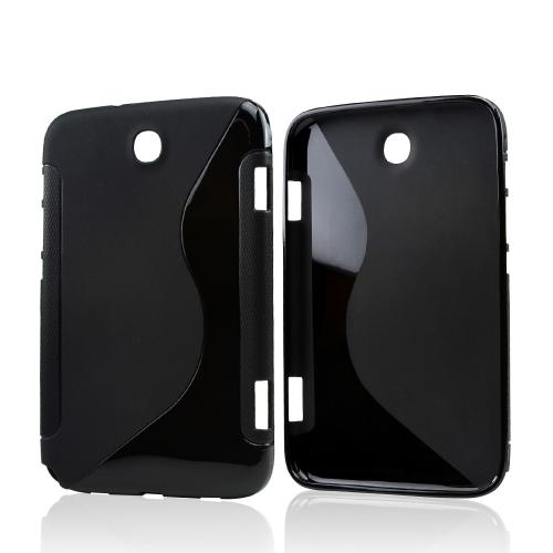 Black S Crystal Silicone Case for Samsung Galaxy Note 8.0