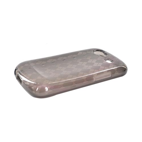 Google Nexus S Crystal Silicone Case - Argyle Smoke