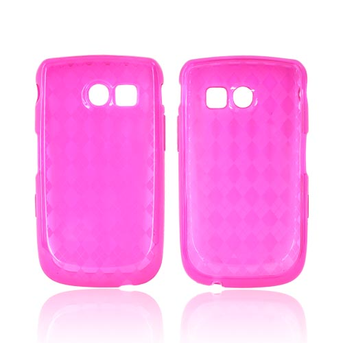 Samsung Freeform 2 R360 Crystal Silicone Case - Hot Pink