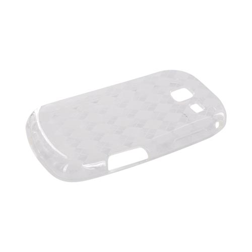 Samsung Freeform 3 Crystal Silicone Case - Argyle Clear