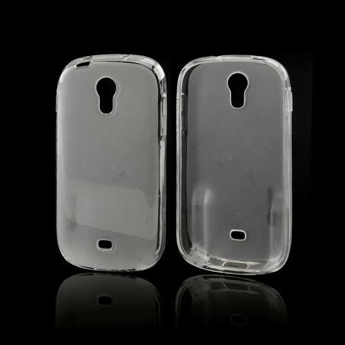 Clear Crystal Silicone Skin Case for Samsung Galaxy Light