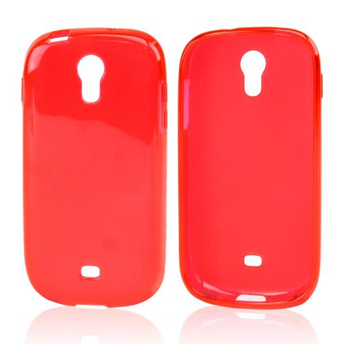 Red Crystal Silicone Skin Case for Samsung Galaxy Light