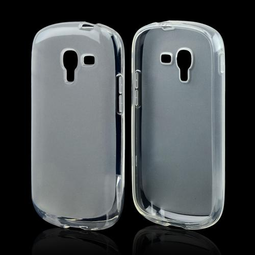 Clear Crystal Silicone Skin Case for Samsung Galaxy Exhibit