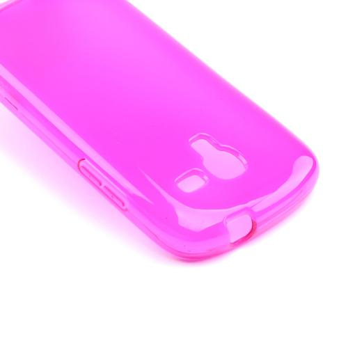 Hot Pink Crystal Silicone Case for Samsung Galaxy Exhibit