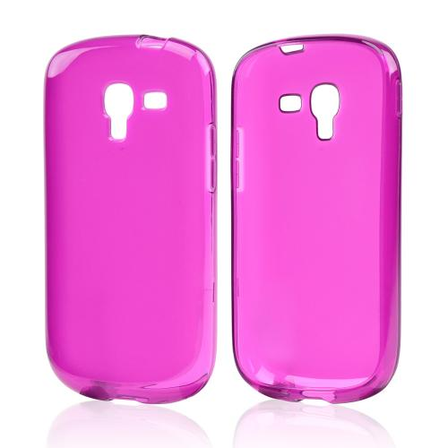 Purple Crystal Silicone Case for Samsung Galaxy Exhibit