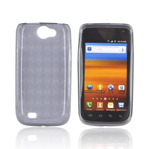 Samsung Exhibit 2 4G Crystal Silicone Case - Argyle Smoke