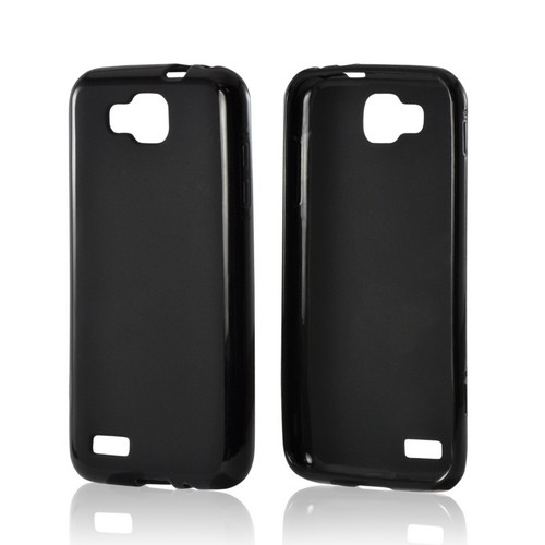 Black Matte Crystal Silicone Case w/ Polished Border for Samsung T899