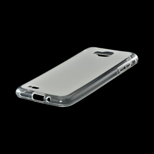 Frost White Matte Crystal Silicone Case w/ Polished Border for Samsung T899