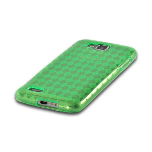 Argyle Green Crystal Silicone Case for Samsung ATIV S T899