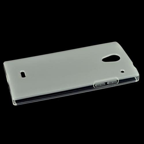 Sharp Aquos Crystal Tpu Case [clear] Protective Bumper Case W/ Flexible Crystal Silicone Tpu Impact Resistant Material