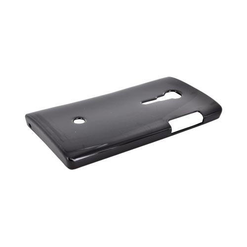 Sony Xperia Ion T28i Crystal Silicone Case - Argyle Black