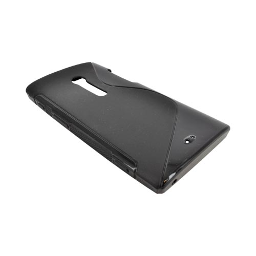 Sony Xperia Ion T28i Crystal Silicone Case - Matte/ Shiny Black