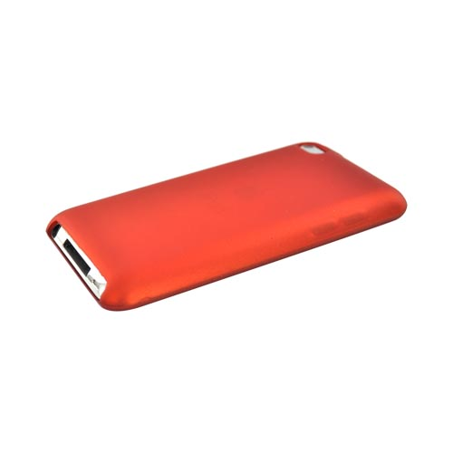 Apple iPod Touch 4 Crystal Silicone Case - Rubberized Orange