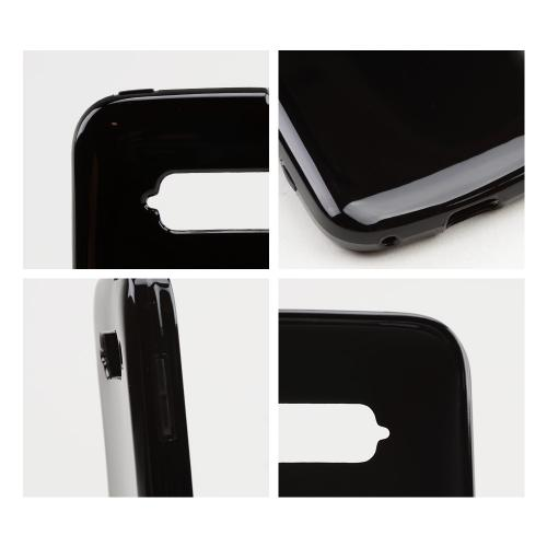 Black/ Smoke Crystal Silicone Skin Case for ZTE Imperial