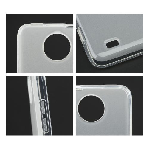 Clear/ Frosted Crystal Silicone Skin Case for ZTE Vital