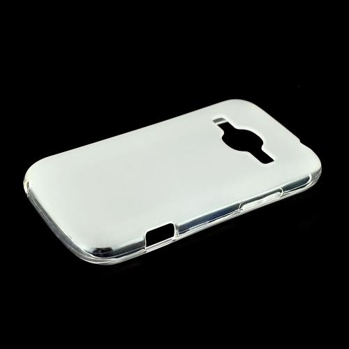 Clear ZTE Concord 2 Flexible Crystal Silicone TPU Case - Conforms To Your Phone Without Stretching Out!
