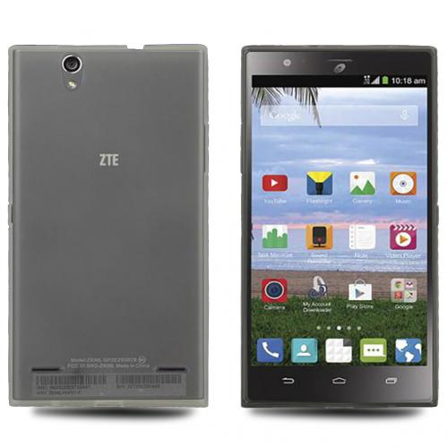 ZTE Lever Z936L Case, CLEAR Slim & Flexible Crystal Silicone TPU Protective Case