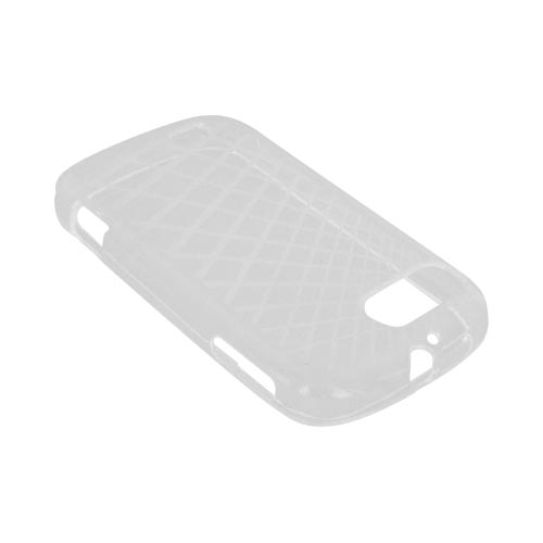 ZTE Fury N850 Crystal Silicone Case - Grid Clear