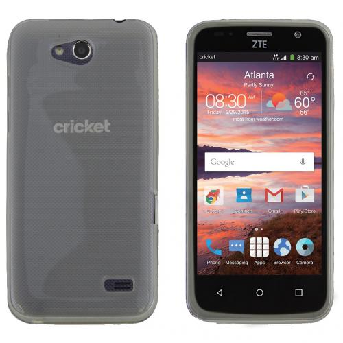 ZTE Overture 2 Case, CLEAR Slim & Flexible Anti-shock Crystal Silicone TPU Skin Protective Case