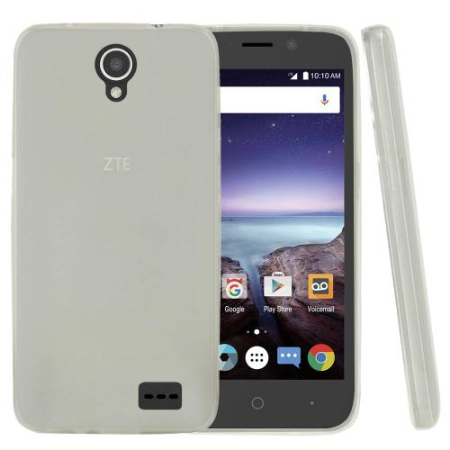 ZTE Prestige 2 Case, [REDshield] Slim & Flexible Anti-shock Crystal Silicone Protective TPU Gel Skin Case Cover [Clear]