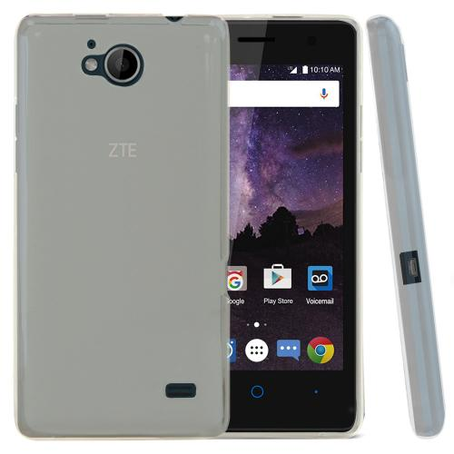 [ZTE Tempo] Case, REDshield [Clear] Slim & Flexible Anti-shock Crystal Silicone Protective TPU Gel Skin Case Cover