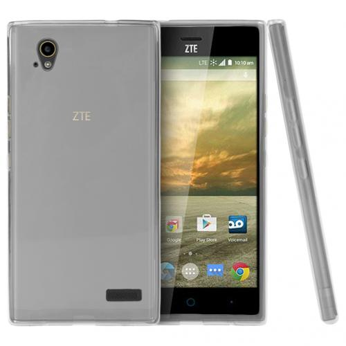 ZTE Warp Elite Case, [Clear] Slim & Flexible Crystal Silicone TPU Protective Case