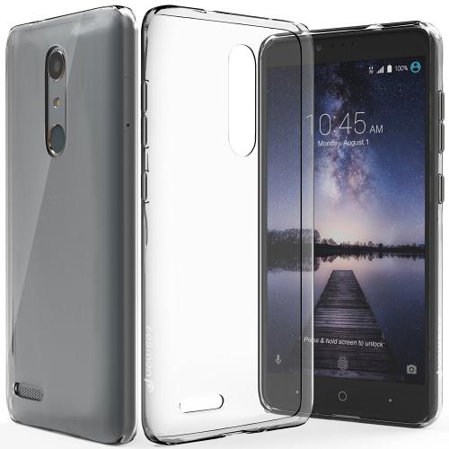 ZTE Z Max Pro Case, Slim & Flexible Anti-shock Crystal Silicone Protective TPU Gel Skin Case Cover [Clear]