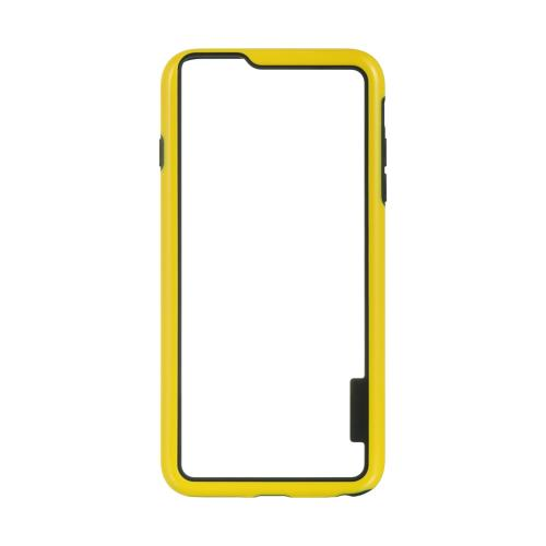 Yellow/ Black TPU Crystal Silicone Bumper Made for  Apple iPhone 6/6S Plus (5.5 inch) - Show off Your Device While Protecting it!