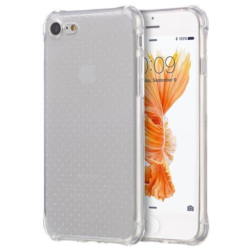 [Apple iPhone 7] (4.7 inch) Case, REDshield [Clear] Durable Anti-shock Crystal Silicone Protective TPU Gel Skin Case Cover