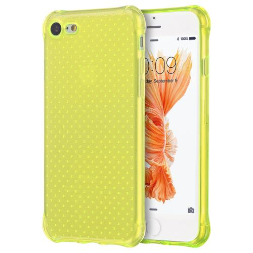 Apple iPhone 7 (4.7 inch) Case, REDshield [Neon Green] Durable Anti-shock Crystal Silicone Protective TPU Gel Skin Case Cover