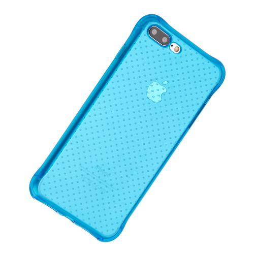 [Apple iPhone 7 Plus] (5.5 inch) Case, REDshield [Blue] Durable Anti-shock Crystal Silicone Protective TPU Gel Skin Case Cover