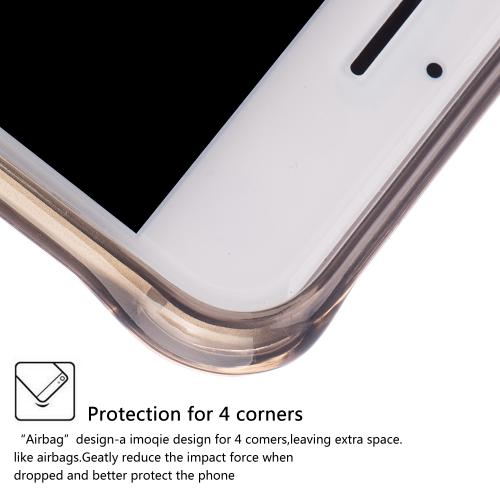 [Apple iPhone 7] (4.7 inch) Case, REDshield [Smoke] Durable Anti-shock Crystal Silicone Protective TPU Gel Skin Case Cover