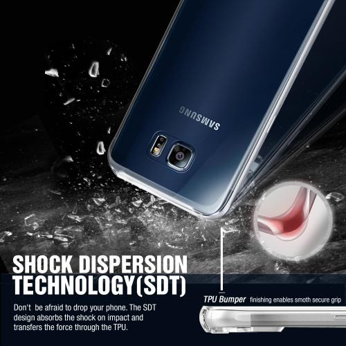 [Samsung Galaxy S7] Case,  REDshield [Smoke] Durable Anti-shock Crystal Silicone Protective TPU Gel Skin Case Cover