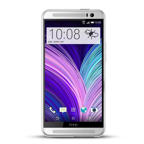 REDShield Clear HTC One (M8) Super-Duper Thin Flexible Crystal Silicone TPU Case - Conforms To Your Phone Without Stretching Out!