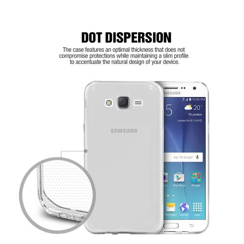 Samsung Galaxy S7 Edge Case, REDshield Featherweight [Clear] Ultra Thin Soft Flexible TPU Gel Skin Case Cover